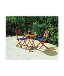 Garden Bistro Chairs Kara 2 Seater Garden Bistro Furniture Set Black My Board