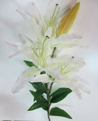 Casablanca Lily Artificial Flowers Artificial Real Touch Casablanca Lily Buy
