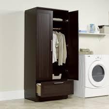 sauder homeplus basic storage cabinet dakota oak sauder storage cabinet dakota oak homeplus wardrobe sauder storage