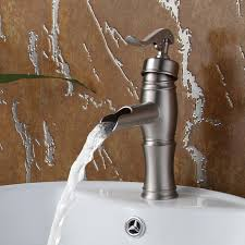 8827bn elite brushed nickel finish single lever basin faucet