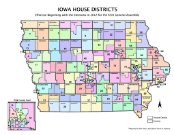 Map Of The Keys The Key 2016 Iowa House Races That Will Determine The Majority