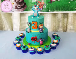oggy cockroaches cake cupcakes lance matthew u0027s 3rd