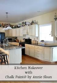 Granite Kitchen Makeovers - kitchen makeover using chalk paint by annie sloan hometalk
