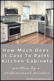 how much does it cost to paint kitchen cabinets professionally how much does it cost to paint kitchen cabinets painting