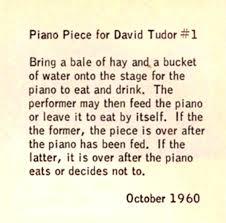 tudor writing paper fondazione bonotto cage john piano piece for david tudor 1 piano piece for david tudor 1 1960 score included in