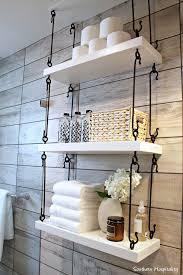 bathroom wall shelf ideas 31 gorgeous rustic bathroom decor ideas to try at home southern
