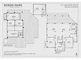 ocean shores floor plan 42 tongarra drive ocean shores nsw 2483 sold