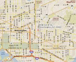 g map washington dc facility map