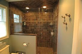 open shower bathroom design open shower bathroom design doorless excellent ideas home size