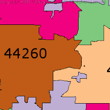 of akron map akron ohio zip code boundary map oh