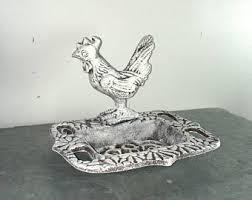 Shabby Chic Soap Dish by Cast Iron Soap Dish Etsy