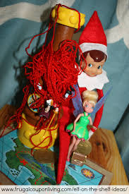 on the shelf ideas saves neverland and tinkerbell