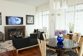 living dining room ideas living room wonderful inspired penthouse by phyllis harbinger