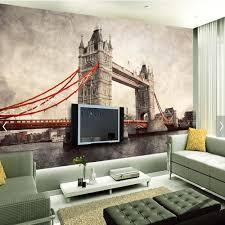London Wall Murals Online Get Cheap London Vinyl Wallpaper Aliexpress Com Alibaba