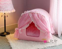 Pet Canopy Bed Pink Princess House Pet Bed Petfavors The On Line Store