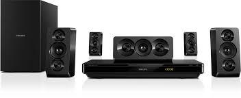 Buy Philips Htb5520 94 5 1 3d Blu Ray Home Theatre Black Online At - 5 1 3d blu ray home theater htb3510 94 philips
