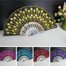 lace fans 2017 embroidered fans flower lace fan handmade floding
