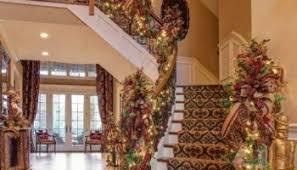 Christmas Railing Decorations Diy Christmas Entry Decoration