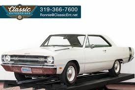69 dodge dart white 1969 dodge dart gts for sale mcg marketplace