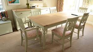 Pine Table Painting Pine Furniture Cream Ideas Youtube