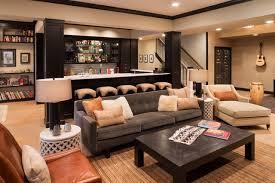 Flooring Ideas For Basement Top 30 Light Wood Floor Basement Ideas U0026 Photos Houzz