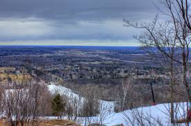 free stock photo of overview on the mountain at rib mountain state