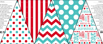 Red And White Flag With A Cross Carnival Bunting Flags In Red And Tuquoise Wallpaper Risarocksit