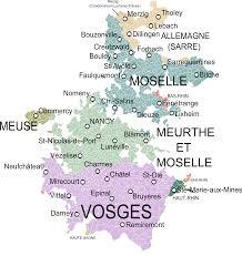 Nancy France Map by