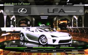 lexus v8 top speed need for speed underground 2 cars by lexus nfscars