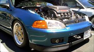 1992 1995 eg honda civic coupe with j32 v6 swap and skunk 2 intake