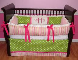 green bedding for girls colors crib bedding for girls tips to shop girls crib bedding