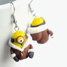 minion earrings pole minion earrings eskimo minion from velwoo