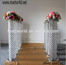 Pillars And Columns For Decorating 2017 New Silver Led Pillar For Wedding Decorations Decorative