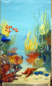 43 best murals images on pinterest under the sea mural ideas mural under water sea ocean just completed for lana black this mural was painted by