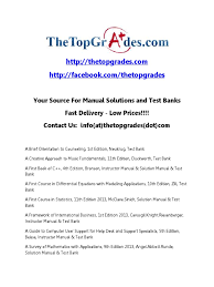 thetopgrades com manual solutions and test banks