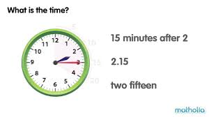 telling time to 5 minute intervals youtube