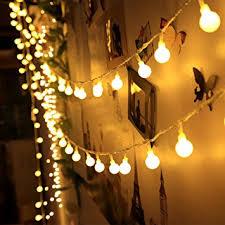 amazon com 100 led indoor string lights 37 7 feet warm white