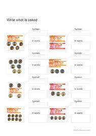 worksheets for grade 1 philippine money philippine money