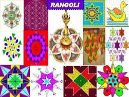 rangoli patterns using mathematical shapes fun with shapes