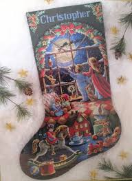 dimensions gold 8567 must be st nick cross stitch stocking kit