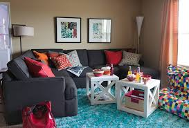 The Ellen Dream House Family Room Possible Kid Friendly Living - Kid friendly family room