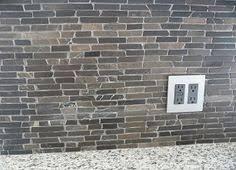 Black Stone Backsplash by Black Gray And White Backsplash Tile Backsplash Com Kitchen