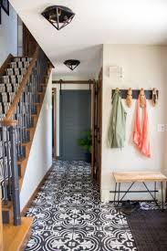 how to paint tile floors how to stencil gorgeous faux cement