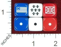 Us Colonial Flag Dicecollector Com Dice Theme General Flag Dice