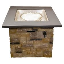 Propane Fireplace Heaters by Square Faux Stone Propane Fire Pit Az Patio Heaters Target