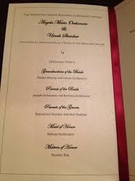 gold wedding programs wedding programs emily s enchantments