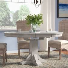 oval pedestal dining table oval kitchen dining tables you ll love wayfair