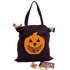 personalized halloween gifts tote bags trick or treat bags