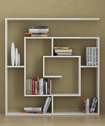 gorgeous custom floating shelves as crafts display and wall