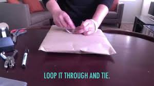 how to wrap a present without a gift box youtube